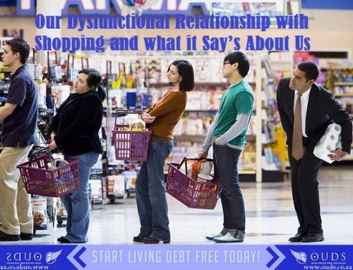 Our Dysfunctional Relationship with Shopping and what it Say's About Us