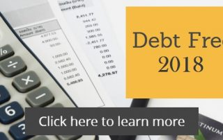 Simple steps you can take in 2018 to be debt free in 2019